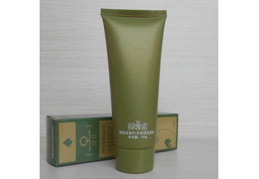 韩元素 橄榄多酚补水保湿洗面奶100g产品
