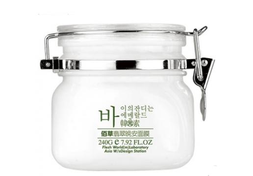 韩元素  佰草翡翠-晚安面膜240g产品
