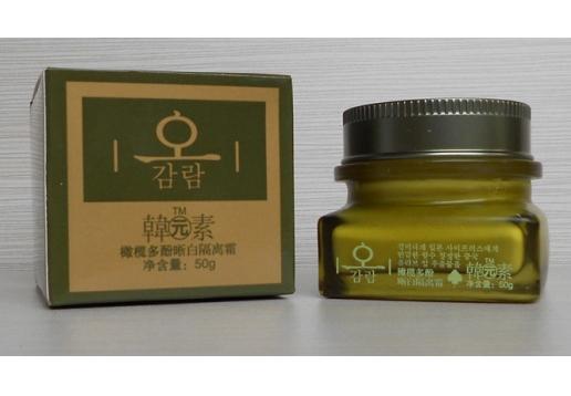 韩元素 橄榄多酚晰白隔离霜50g产品